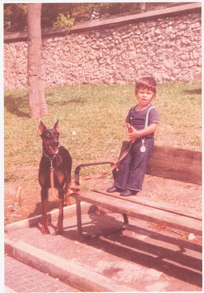 Reynaldo con Tola